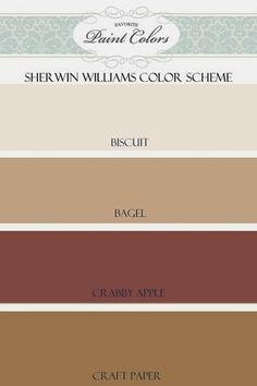 Favorite Paint Colors - Sherwin Williams color scheme