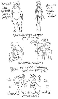 This simple cartoon shows what victim-blaming really looks like - Blue Nation… Women Rights, Construccionismo Social, Social Issues, Feminism Comic, Victim Blaming, Simple Cartoon, Poses References, Intersectional Feminism, Cartoon Shows