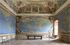 Salla del Mappamondo - Palazzo Farnese - Caprarola
