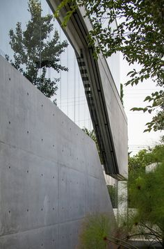 Image 18 of 62 from gallery of The Concrete Cut / Pitsou Kedem Architects. Photograph by Amit Geron Villas, Pitsou Kedem, Architect Design, Modern House Design, Interior Architecture, Interior Design, Lighting Design, Facade, Contemporary