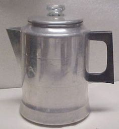 Vintage Coffee Pots For Sale | ... Coffee Pot / Percolator-camping & Tail Gating - Vintage Coffee Makers