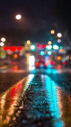 Trafik ve yağmur