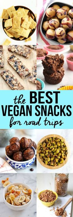 Your summer adventures aren't complete without the best vegan snacks for road trips! Save yourself some money by making them at home. Delicious and easy!