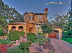 Beautiful Property in El Dorado Hills #luxury #homes #house #architecture #frontyard #landscape #design