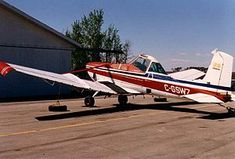 19 February 1965 first flight #flighttest of the Cessna 188 agricultural aircraft
