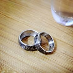 Bought 2 coin rings. Great workmanship🤗 #customershow #coin #design #Bespokepro #coinring #gift
