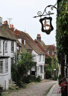 ❤❤❤ Mermaid Street, Rye ~ East Sussex, England   Good old (east) Sussex...
