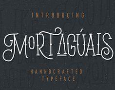 "Check out new work on my @Behance portfolio: ""Mortaguais Typeface"" http://be.net/gallery/37964029/Mortaguais-Typeface"