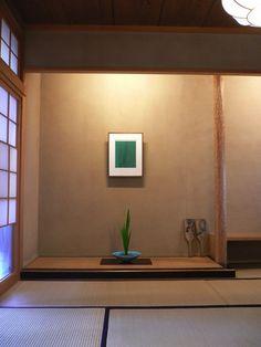 新潟市のNさん宅をお訪ねしたら、床の間にイタリアの現代作家フォンタナの版画が掛かっていました。 ねこやなぎが生けられて、シンプルできれい。これはNさ...