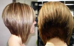 Want to grab the attention with a stacked bob? Browse the short stacked bob hairstyles for women to pick the task for your hairstylist. Short Wedge Hairstyles, Stacked Bob Hairstyles, Short Hairstyles For Women, Messy Hairstyles, Short Hair Styles, Medium Hairstyles, Hairstyle Ideas, Short Stacked Hair, Bobs For Thin Hair