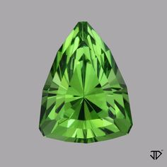 A nice triangle gem mined in Pakistan. For more info, click on the image. #Peridot #Green #Gemstones #Gems #LooseGems #BeautifulGems #Jewelry #Ring #PeridotJewelry #GreenJewelry #JohnDyerGems Peridot Jewelry, Gems Jewelry, Green Gemstones, Loose Gemstones, Vintage Jewelry 1920s, John Dyer, Stones And Crystals, Gem Stones, Bismuth