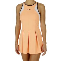 3a00ebe43ee Nike Dress Maria Sharapova Premier - Women atomic orange/white/obsidian  Tennis Dress,