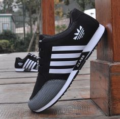 Mens Fashion Tennis Sneakers Breathable Casual Walking Athletic Sports Shoes - Fashion Boxing - Ideas of Fashion Boxing Fashion. Sneakers Mode, Sneakers Looks, Adidas Sneakers, Shoes Sneakers, Tennis Sneakers, Adidas Shoes Men, Men's Shoes, Tenis Casual, Casual Sneakers