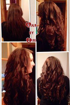 Hair extensions keratin bonds
