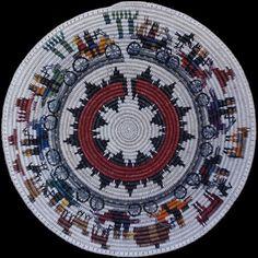 Navajo Monument Valley or Bust Basket - Lorraine Black (#232)