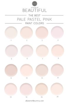 The Best Pale Pink P