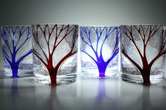 Cut glass. Kiriko.