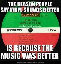 I do like old music a lot.