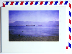 By the bay is where I want to be.  Polaroid shot in Vancouver, Canada. Each notecard is 3.5 x 4.9, printed on crisp, white 14 pt. stock and tucked into a nostalgic airmail envelope.