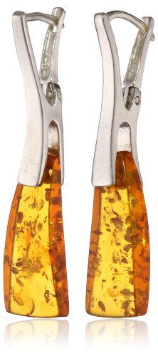Sterling Silver Honey Amber Medium Earrings Amazon Curated Collection http://www.amazon.com/dp/B002IKM6SY/ref=cm_sw_r_pi_dp_lgT.tb1KMAFND