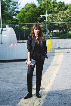New_York_Fashion_Week_Spring_Summer_15-NYFW-Street_Style-Caroline_De_Maigret-Total_Black-Alexander_Wang-8