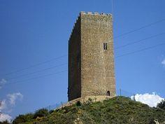 Castillo de navardun - huesca - españa
