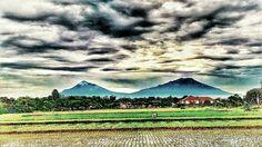 Merapi and Merbabu Mountain
