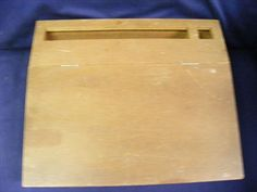 Content/listingImages/20130910/07ddafab-9d7d-4d59-80bf-bdb02b6f74ee_fullsize.jpg Vintage wooden stationary desk 13x12x4  (Excellent condition).   Please visit www.bidsbyzip.com to bid and win this item! Bidding starts at.99!!