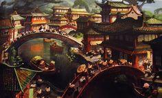 kung fu panda concept art - Google Search