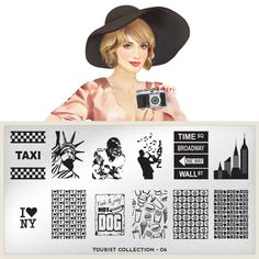 MoYou-London Nail Art Image Plate Tourist Collection 06 >>> Click image to review more details.
