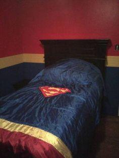 Superman bed frame. | kids DC superhero bedroom ideas | Pinterest ...
