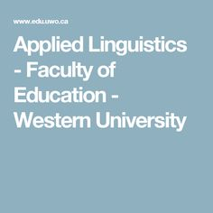 Western University, in vibrant London, Ontario, delivers an academic and student experience second to none. Western University, Westerns, How To Apply, Student, Education, Schools, Canada, School, Onderwijs