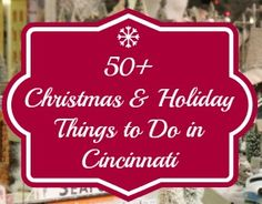 Free and Cheap Things to do in Cincinnati, Winter Edition - 365 Things to do in Cincinnati