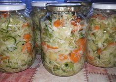 Csalamádé télire   Georgina Kukoda receptje - Cookpad receptek Fresh Rolls, Cabbage, Food And Drink, Vegetables, Ethnic Recipes, Cabbages, Vegetable Recipes, Brussels Sprouts, Veggies