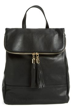 Emperia Faux Leather Backpack