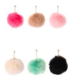 Fur Pom Dust Plug