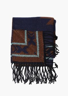 Moe Scarf in Navy | Necessary Clothing