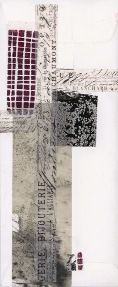 untitled collage Leslie Avon Miller I like the edges of thingsthe way two elements come togetherand are changed by the experience.A third energy is born untitled collage Leslie Avon Miller To explain