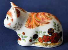 Royal Crown Derby Spice Kitten http://www.bwthornton.co.uk/royal-crown-derby.php
