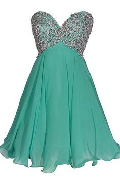 Inexpensive Hunter Homecoming Dress, Empire Sweetheart Chiffon Short Homecoming Dress, Mini Dress with Gorgeous Sequins