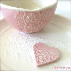 Hey, I found this really awesome Etsy listing at https://www.etsy.com/uk/listing/466151744/shiny-pink-porcelain-lace-bowl-with