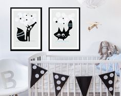Cute scandinavian style, black and white nursery wall art. Printed on professional quality paper.  MATERIAL ´- Printed on professional quality paper ´-Printed with quality pigment ink. ´-Listing is for print only, frame is not included.   SHIPPING: We ship worldwide Prints will be carefully packaged in a sturdy flat mailer or in a sturdy tube which is the best protection for their size. All orders will ship within 3-5 business days upon receipt of payment. International (outside Sweden)…