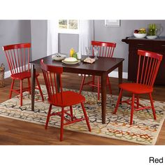 Simple Living Clarissa 5-piece Transitional Dining Set - Overstock™ Shopping - Big Discounts on Simple Living Dining Sets
