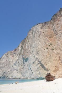The world famous Shipwreck Beach in Zakynthos (Zante) island!Photo taken by Thanos FK for www.TravelZakynthos.com #Zante #Zakynthos #beaches #TravelZakynthos.com