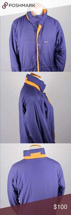 Patagonia Kid's Down Jacket Kid's size 14 purple and orange Patagonia down jacket. This Patagonia down jacket was hand picked and professionally cleaned before selling it to you! SKU in warehouse is # 547. Patagonia Jackets & Coats