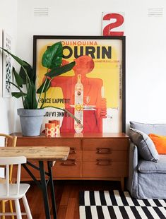 A quirky, colourful rental home where playful details reign supreme, and kids rule!