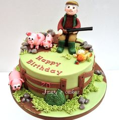 Pig farmer and hunting enthusiast! by izzyscakes