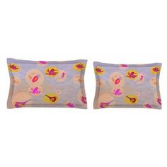 East Urban Home Birds Paradise by Marianna Tankelevich Pillow Sham