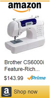 Brother CS6000i Feature-Rich Sewing Machine bestsewingmachinesz.com