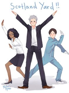 ...But Anderson and Donovan aren't cool like Lestrade